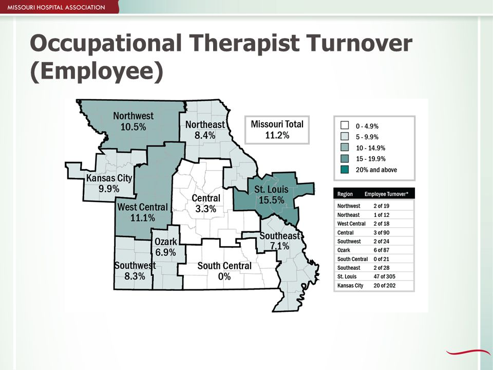 Occupational Therapist Turnover (Employee)