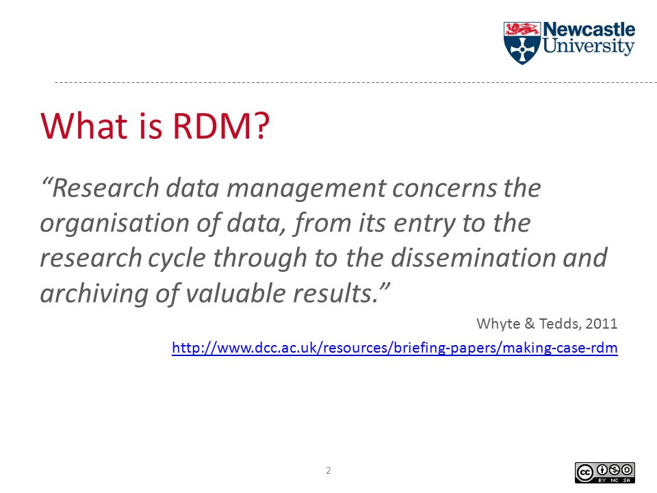 What is RDM.