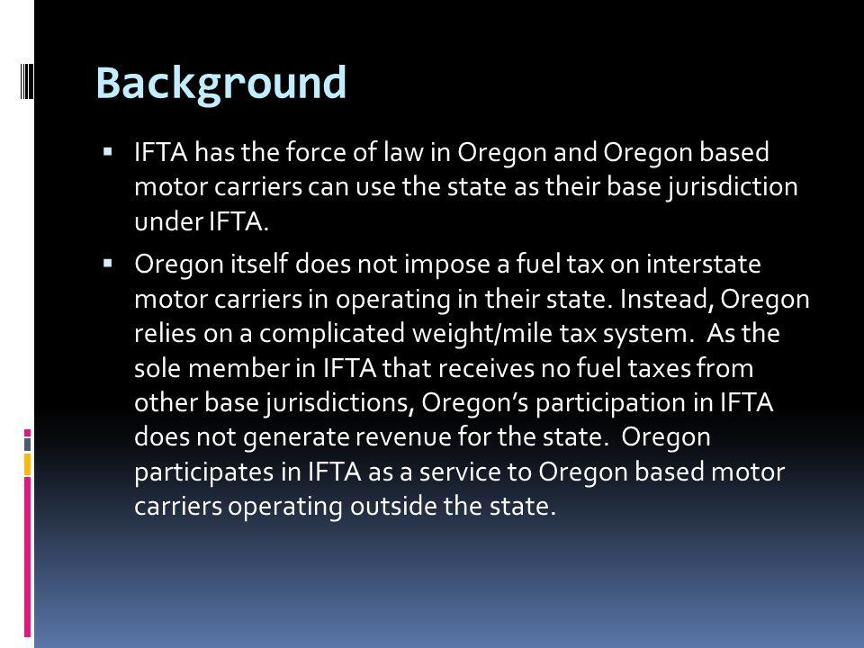 IFTA LITIGATION PA IFTA Litigation R&R Express v