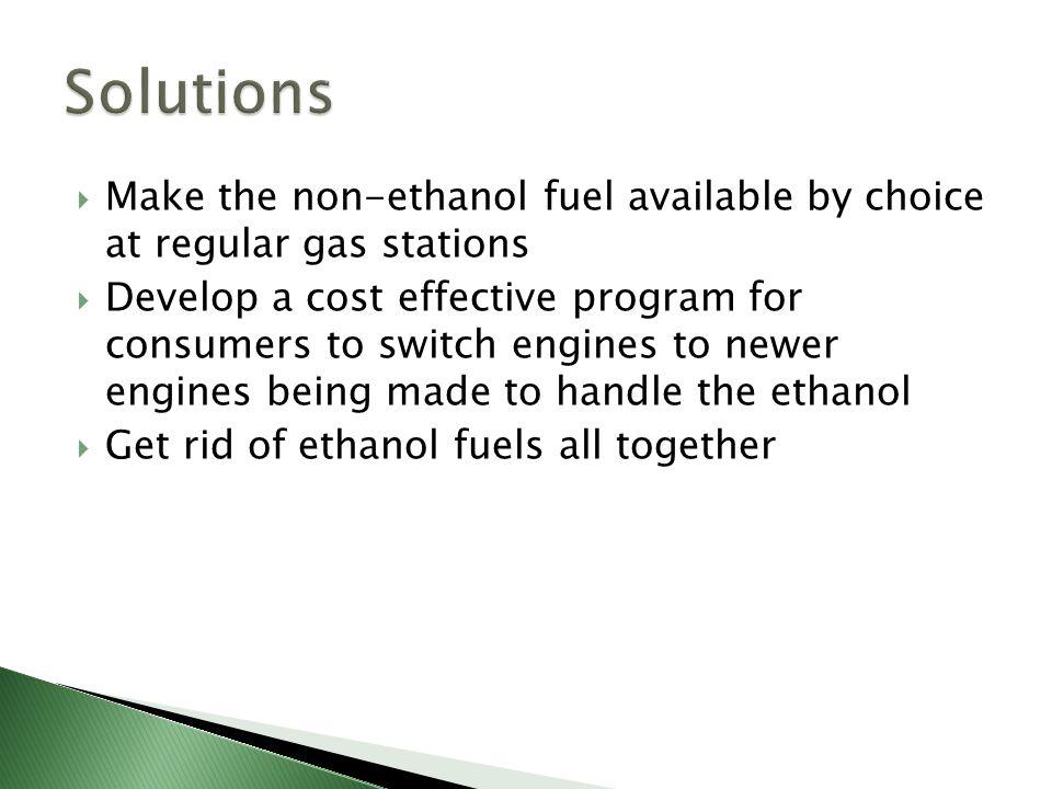 Non Ethanol Gas Stations >> Garrett Farmer Ethanol Has Negative Effects On Engines Both