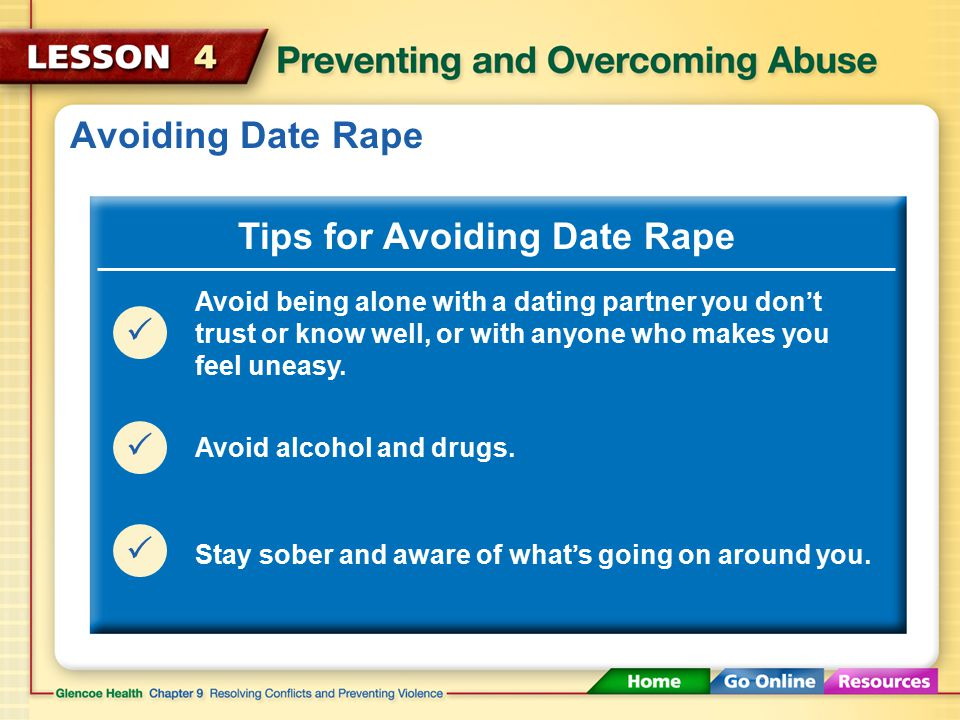 Alcohol, Drugs, and Date Rape Alcohol often plays a role in date rape.