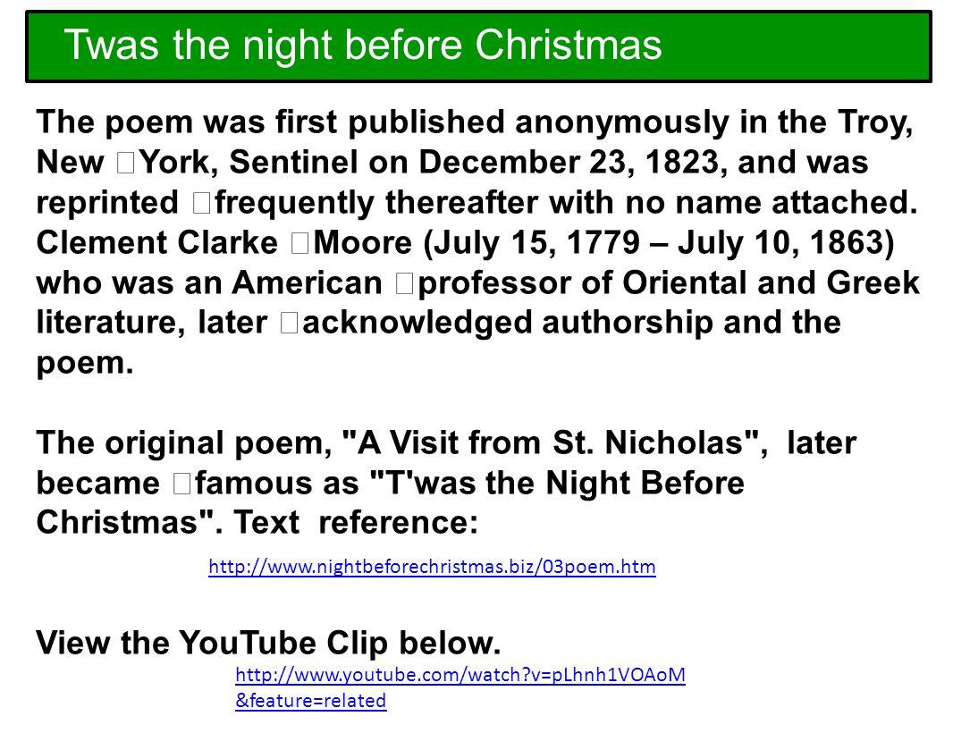 slide_1jpg - Twas The Night Before Christmas Youtube