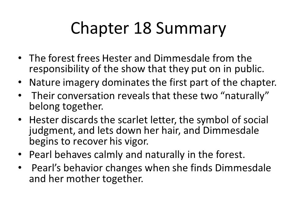 Chapter 1 Summary This opening chapter sets the scene for the