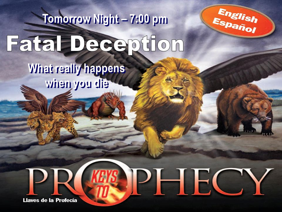 What really happens when you die What really happens when you die Tomorrow Night – 7:00 pm