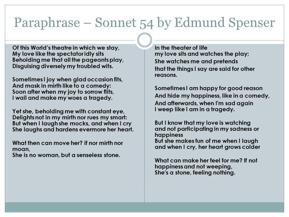 shakespeare sonnet 54 theme