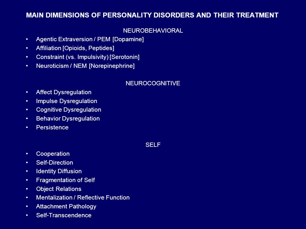DISORDERS OF PERSONALITY Definitions: PERSONALITY Persona