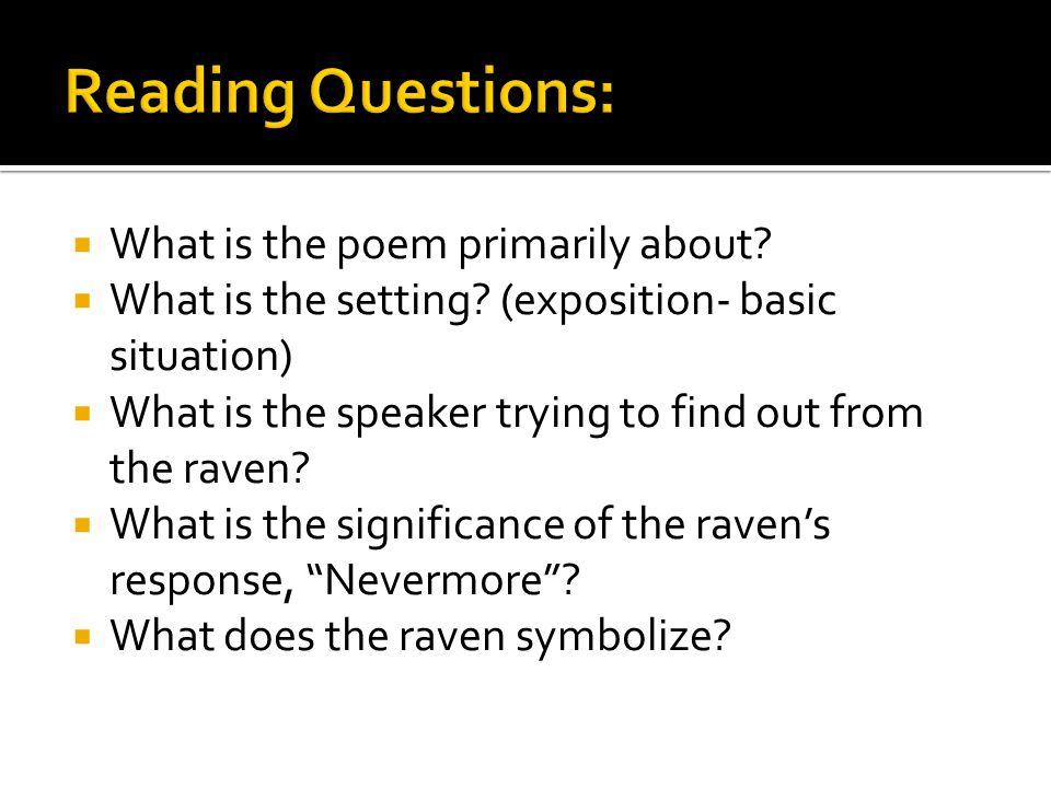 Edgar Allan Poe American Poet What Is The Poem