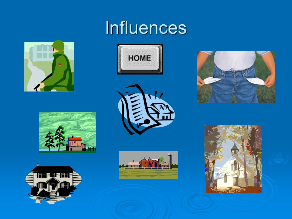 Influences