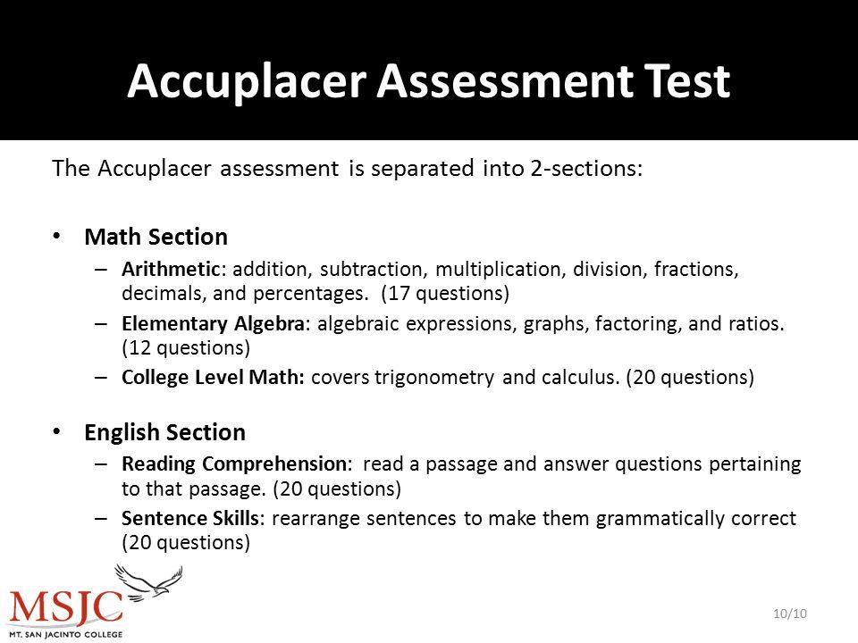 Preparing for Assessment 1  Preparing Students for the Assessment