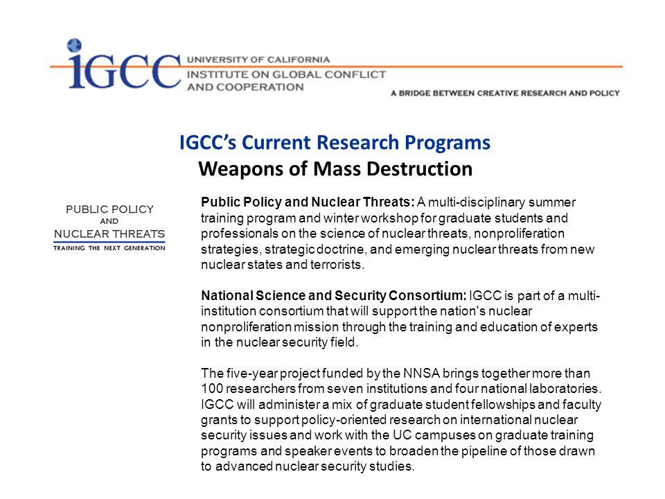 igcc dissertation fellowship