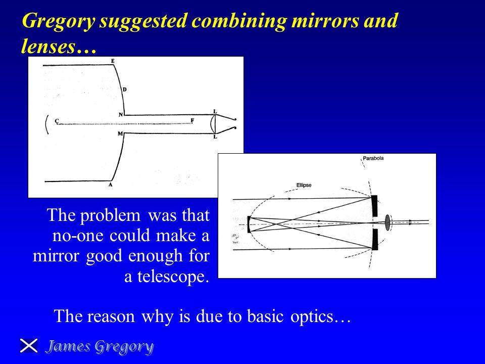 james gregory telescope