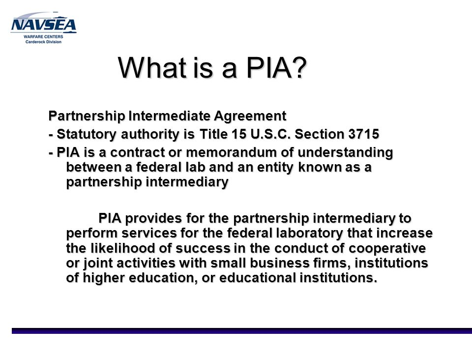 Partnership Intermediaries Joseph Teter Director Of Technology