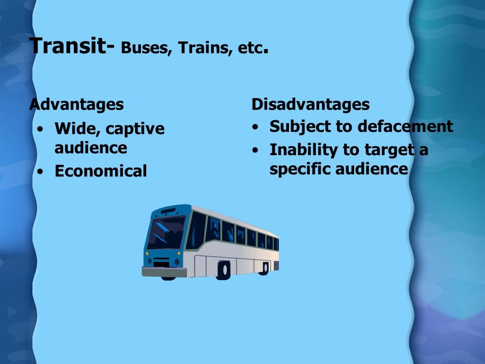 Transit- Buses, Trains, etc.