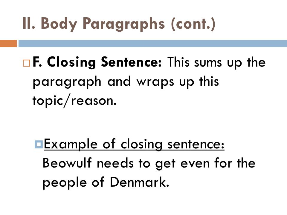 beowulf conclusion paragraph