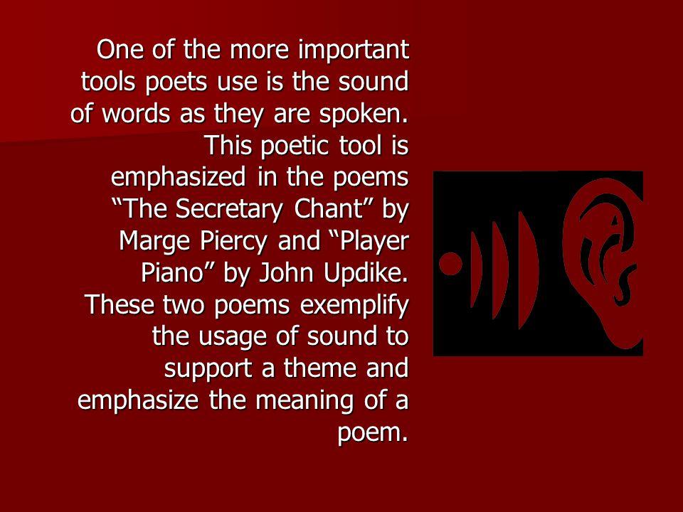 secretary chant poem