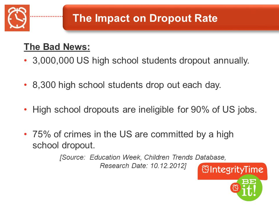 Character Education and Its Impact on Dropout Prevention