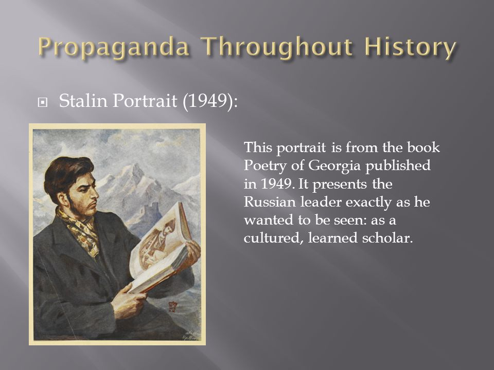  Stalin Portrait (1949): This portrait is from the book Poetry of Georgia published in 1949.