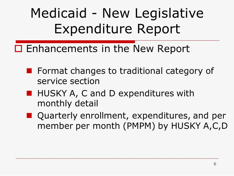 1 medicaid reporting and trend review department of social services