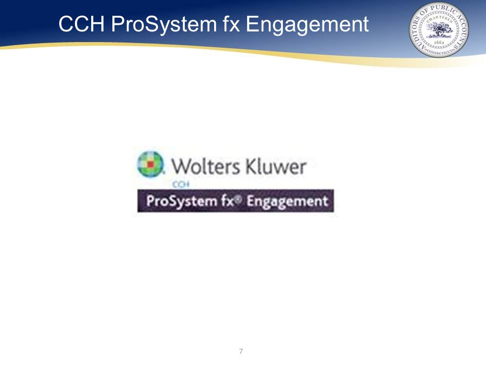 Electronic Working Papers CCH ProSystem fx Engagement NSAA