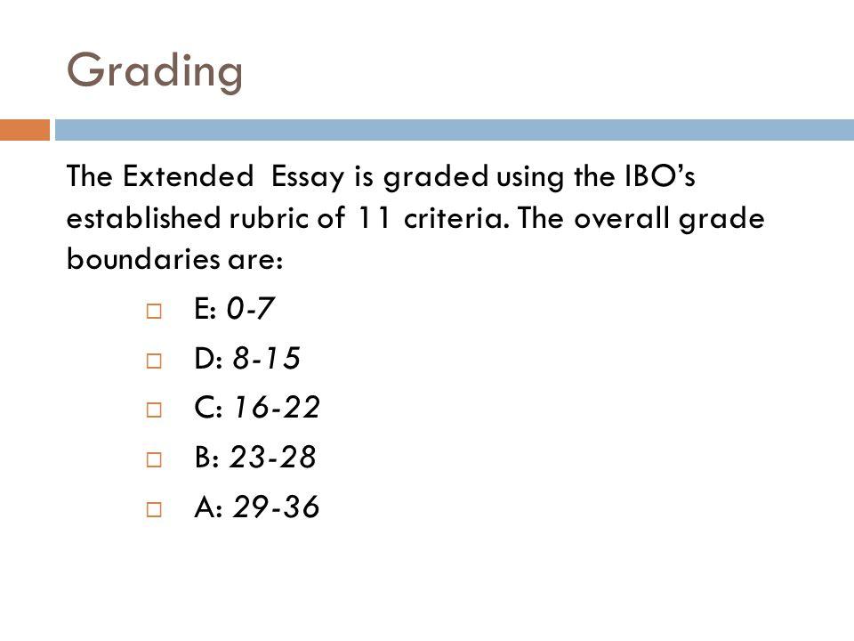 ib history extended essay marking criteria