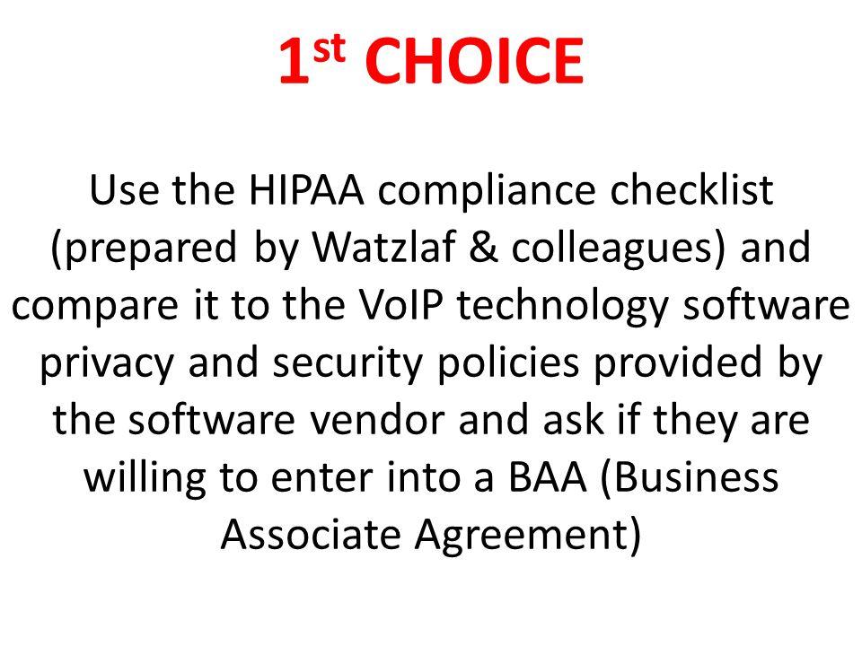 Hipaa Compliance Checklist For Software | Graph Pedia