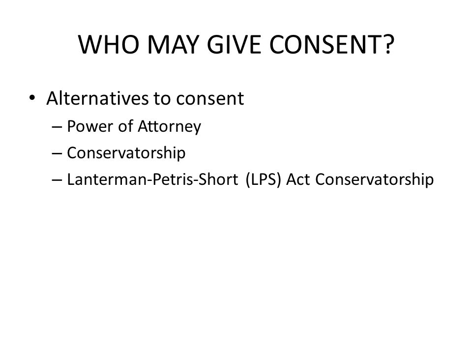 WHO MAY GIVE CONSENT.