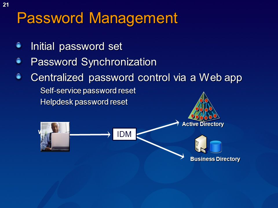 Quality in Identity and Access Management Systems IDM