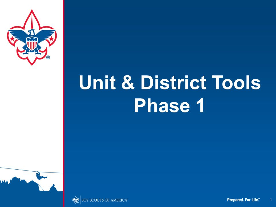 1 Unit & District Tools Phase 1