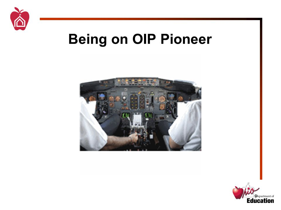 9 Being on OIP Pioneer