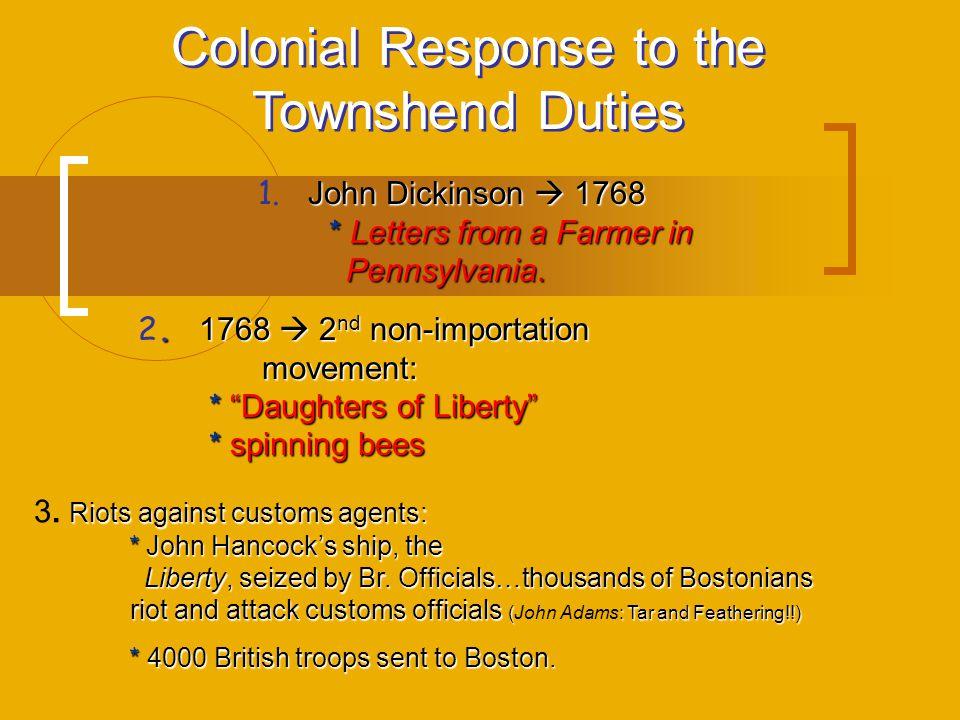 Steps Toward the American Revolution ppt