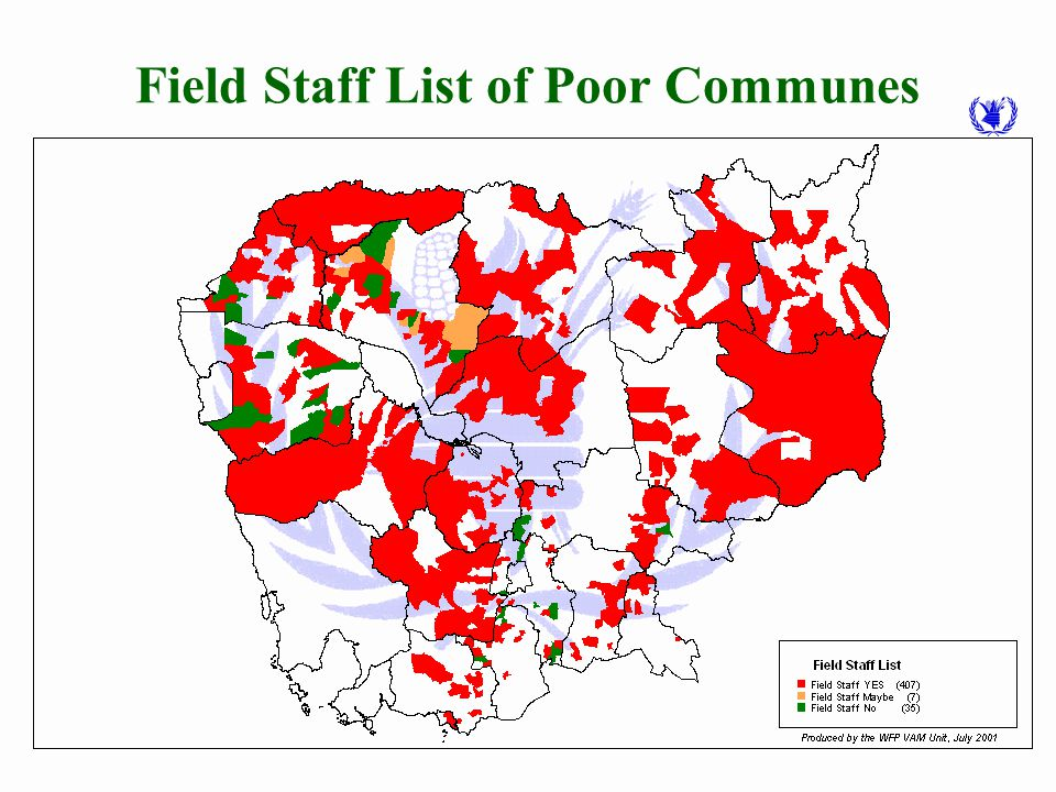 Guideline for Field Staff Assessment of Poor Communes Participation (government and other agencies, …) Poor in agricultural production, market access, social service accessibility,...