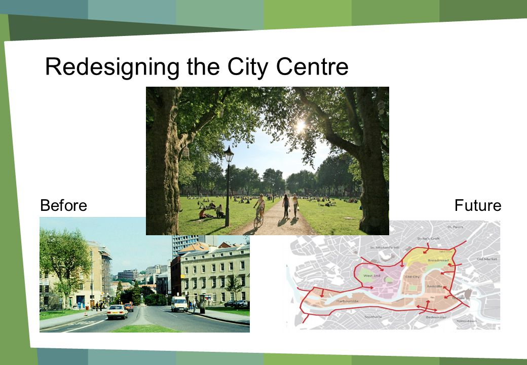 Redesigning the City Centre BeforeFuture