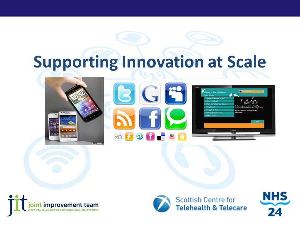 Supporting Innovation at Scale