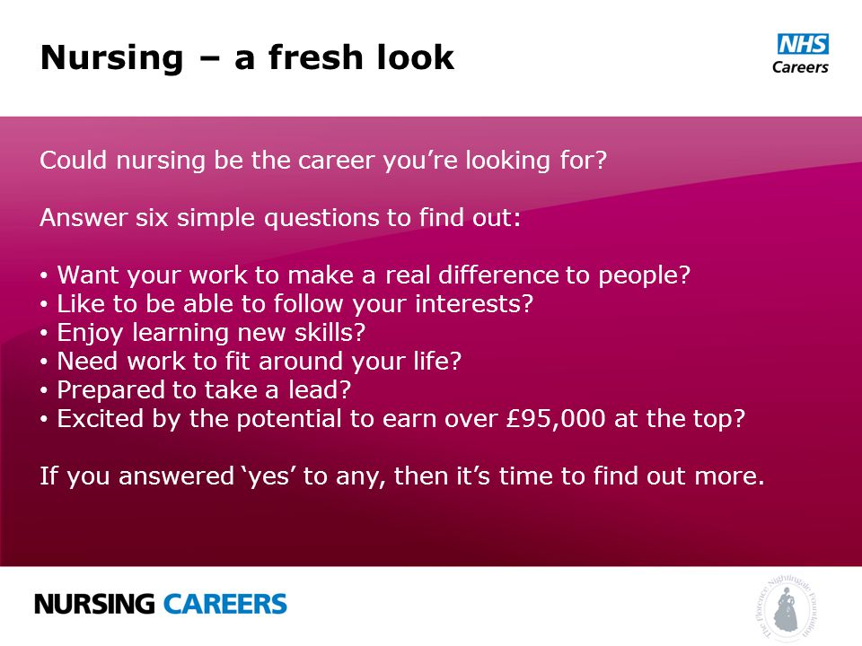 Nursing A Fresh Look Learning More About This Unique Career May