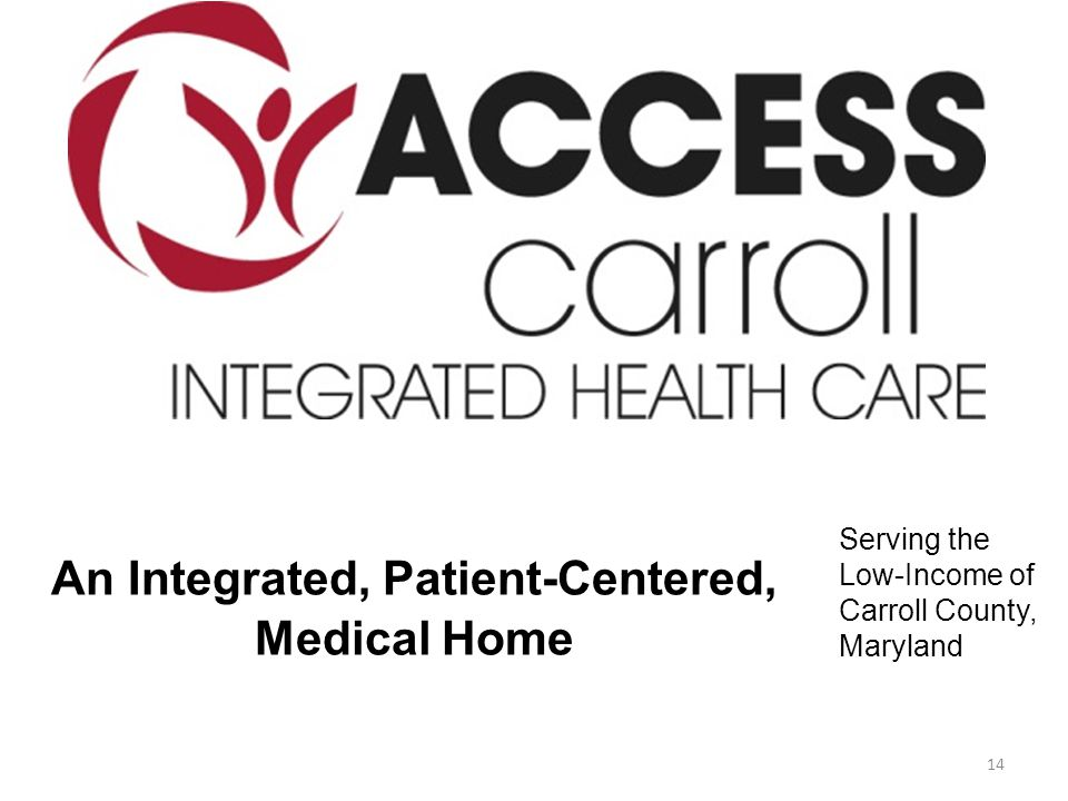 An Integrated, Patient-Centered, Medical Home Serving the Low-Income of Carroll County, Maryland 14