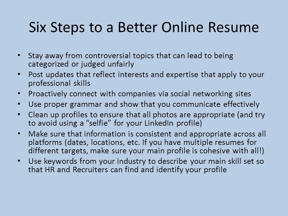 The Do\'s and Don\'ts of building a Resume Kasi Lavely Recruiter ...
