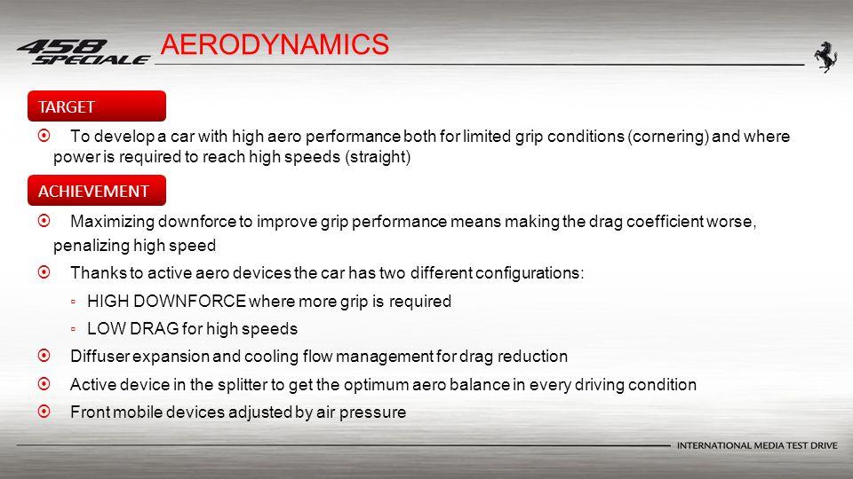 AERODYNAMICS   To develop a car with high aero performance