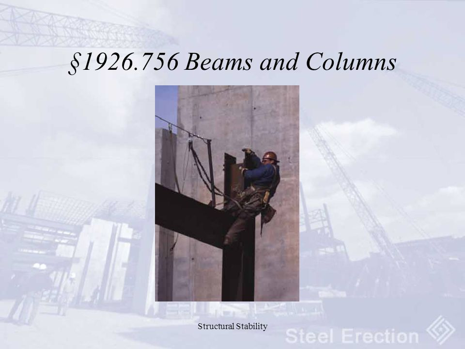 Structural Stability § Beams and Columns