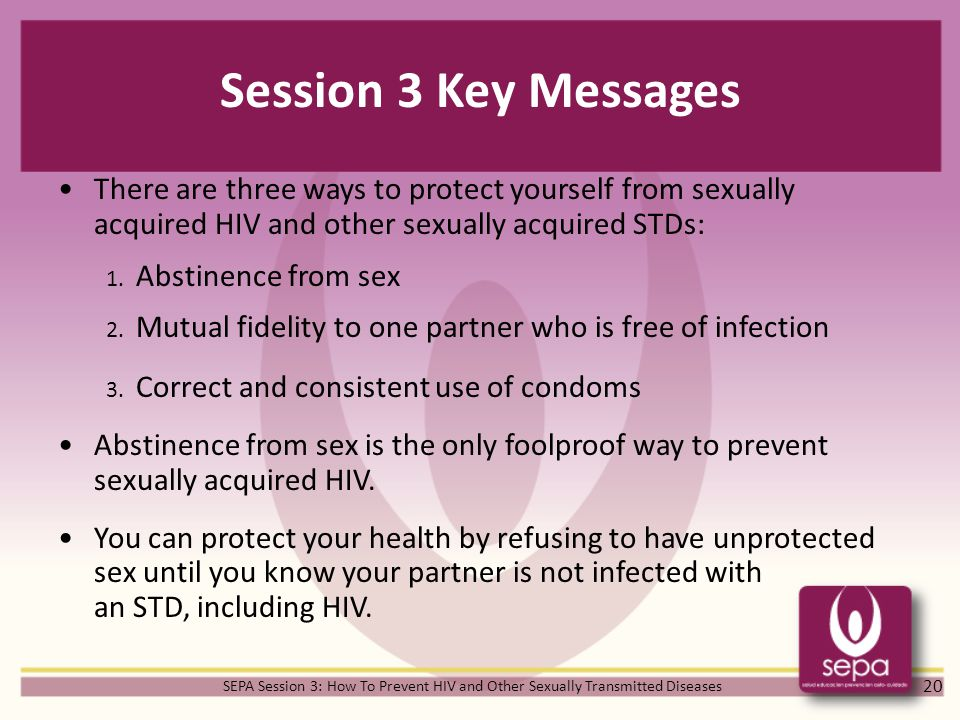 Why should you know about sexually transmitted diseases or infections picture 169