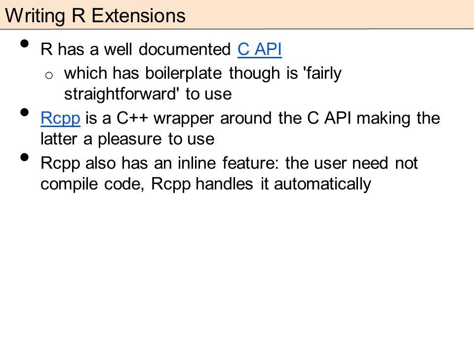 Rterra Writing R Extensions using Terra saptarshi guha, july, ppt