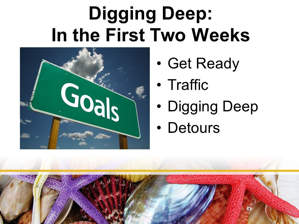 Get Ready Traffic Digging Deep Detours