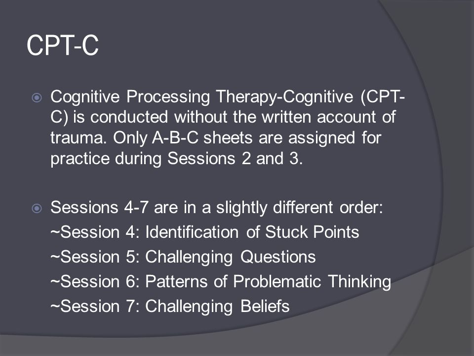 Laurel Shaler Phd Lisw Cp Agenda Introduction Posttraumatic Stress Disorder Cognitive Processing Therapy Integration Of Faith Questions And Ppt Download
