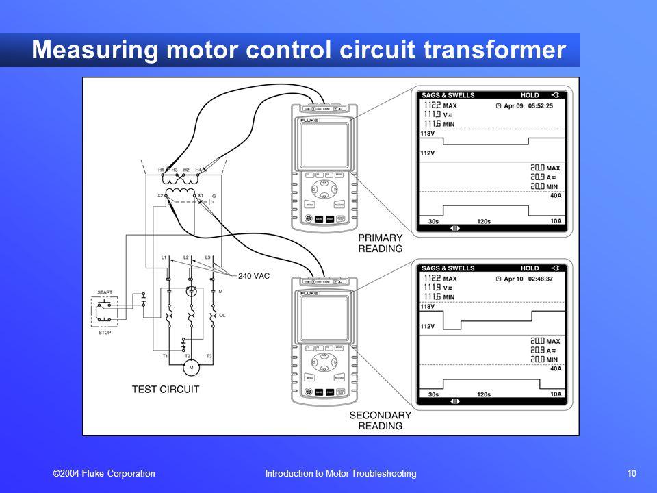 2004 Fluke Corporation Introduction to Motor Troubleshooting 1 ...