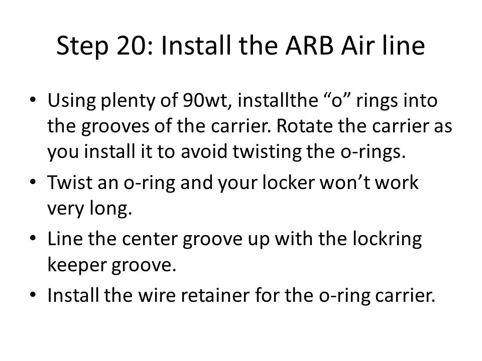 Diy Arb Locker Install Step 1 Clean Your Differential Less Dirt On