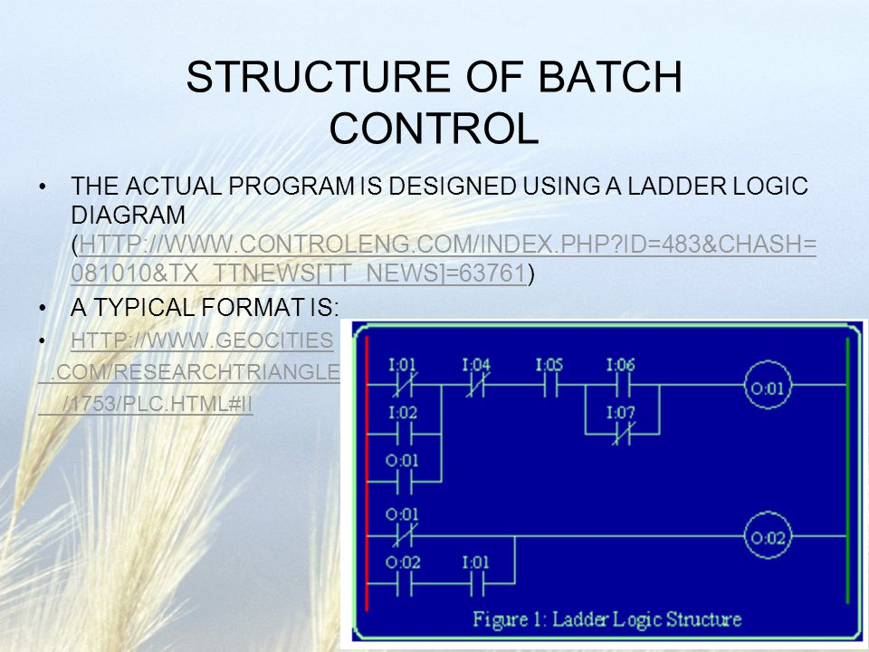 Che 185 Process Control And Dynamics Control Of Batch Processes