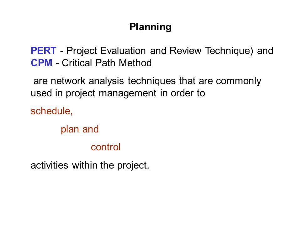 project network techniques