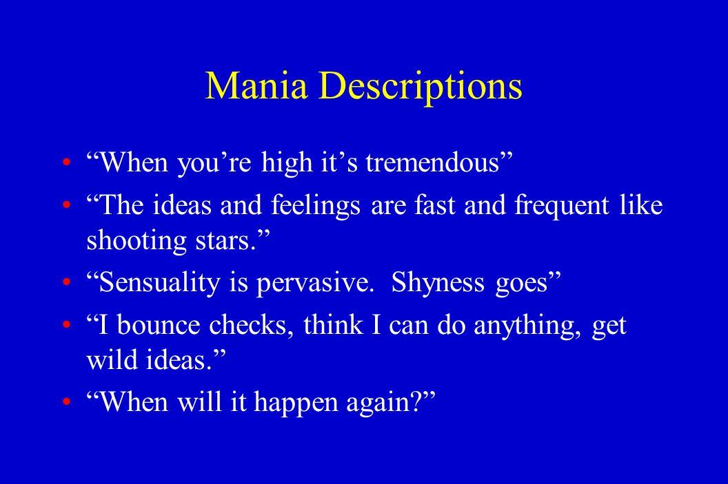 Excessive masturbation mania
