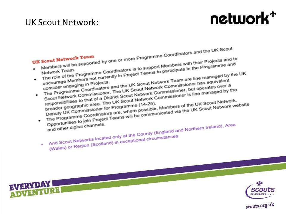 UK Scout Network: