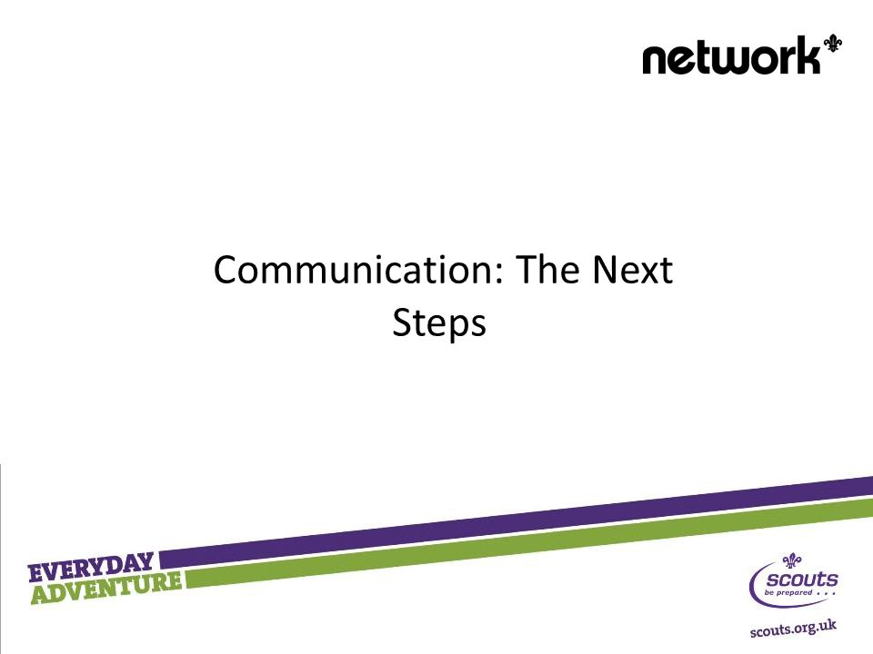 Communication: The Next Steps