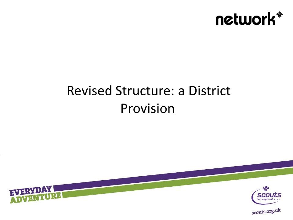 Revised Structure: a District Provision